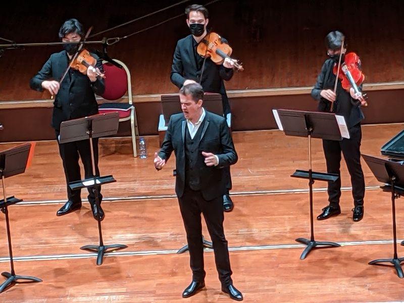 Philippe Jaroussky lors du concert du 28 mai - Photo Classictoulouse -