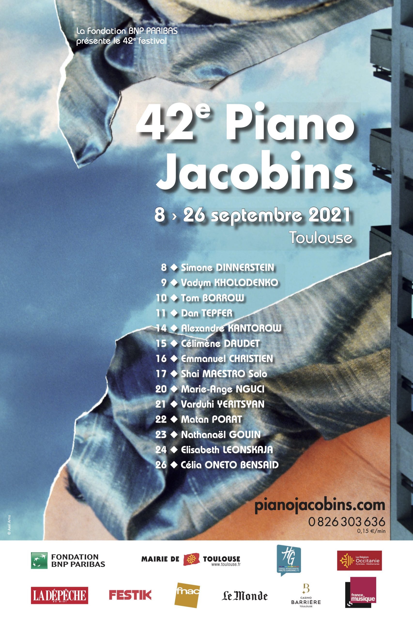 Piano Aux Jacobins 2021