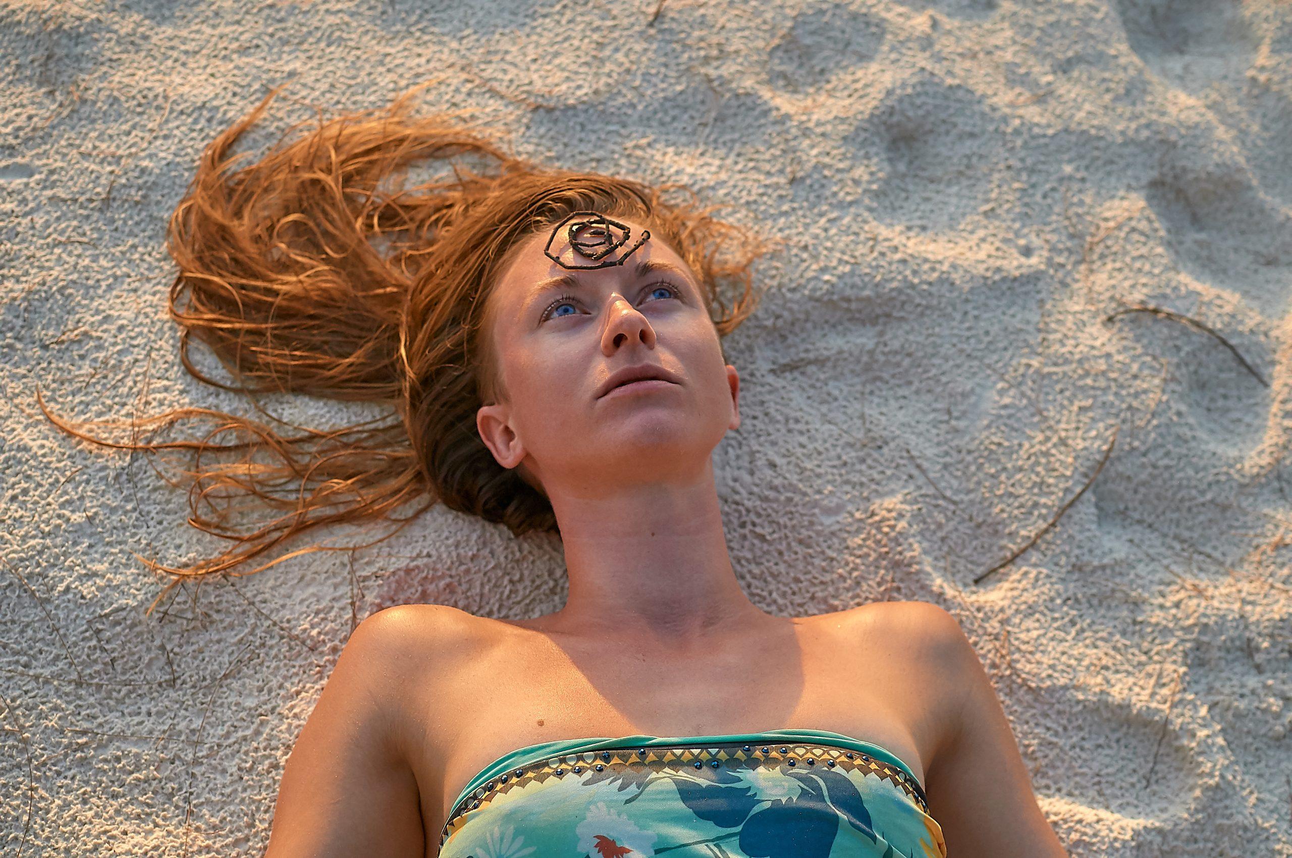 Sand Portait
