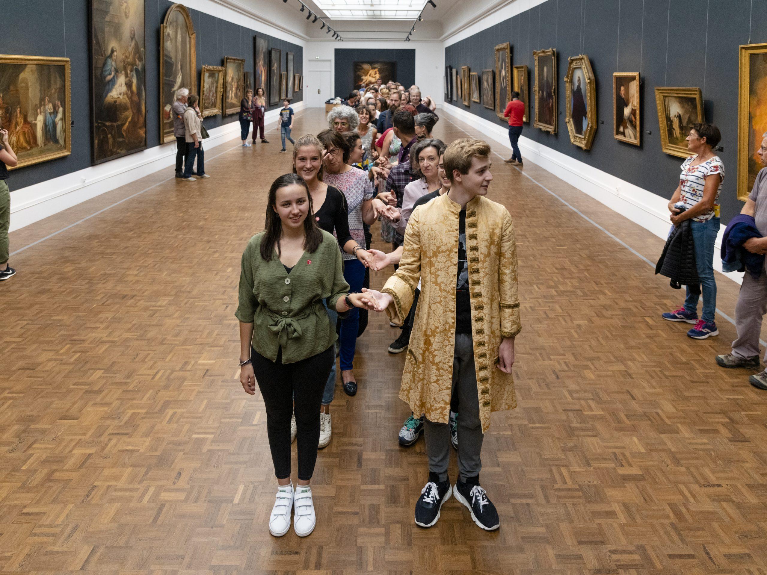 Bal baroque au musée des beaux-arts