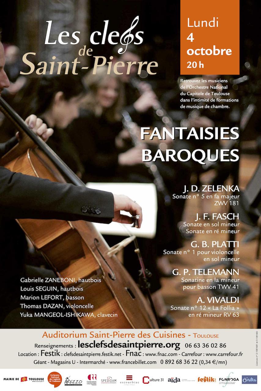Clefs De Saint Pierre Fantaisies Baroques