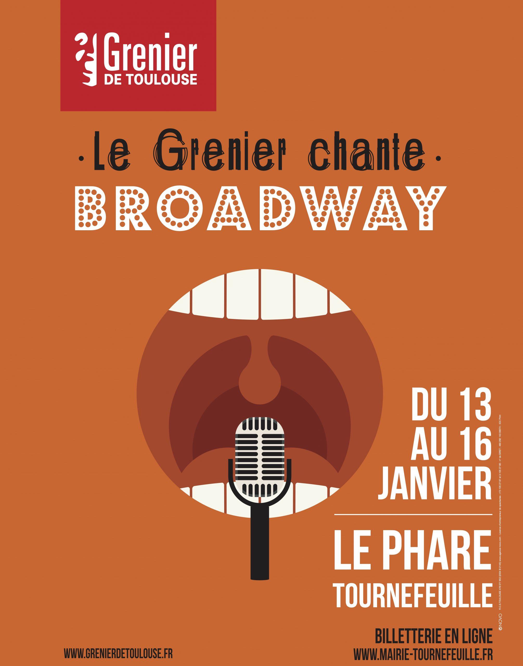 Le Grenier Chante Boradway