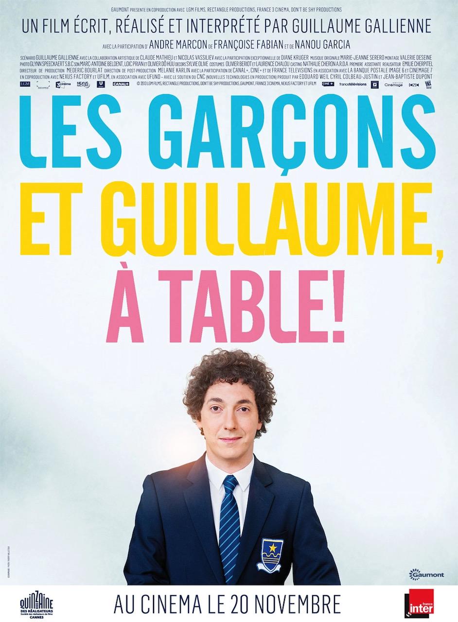 Les Garcons Et Guillaume, À Table