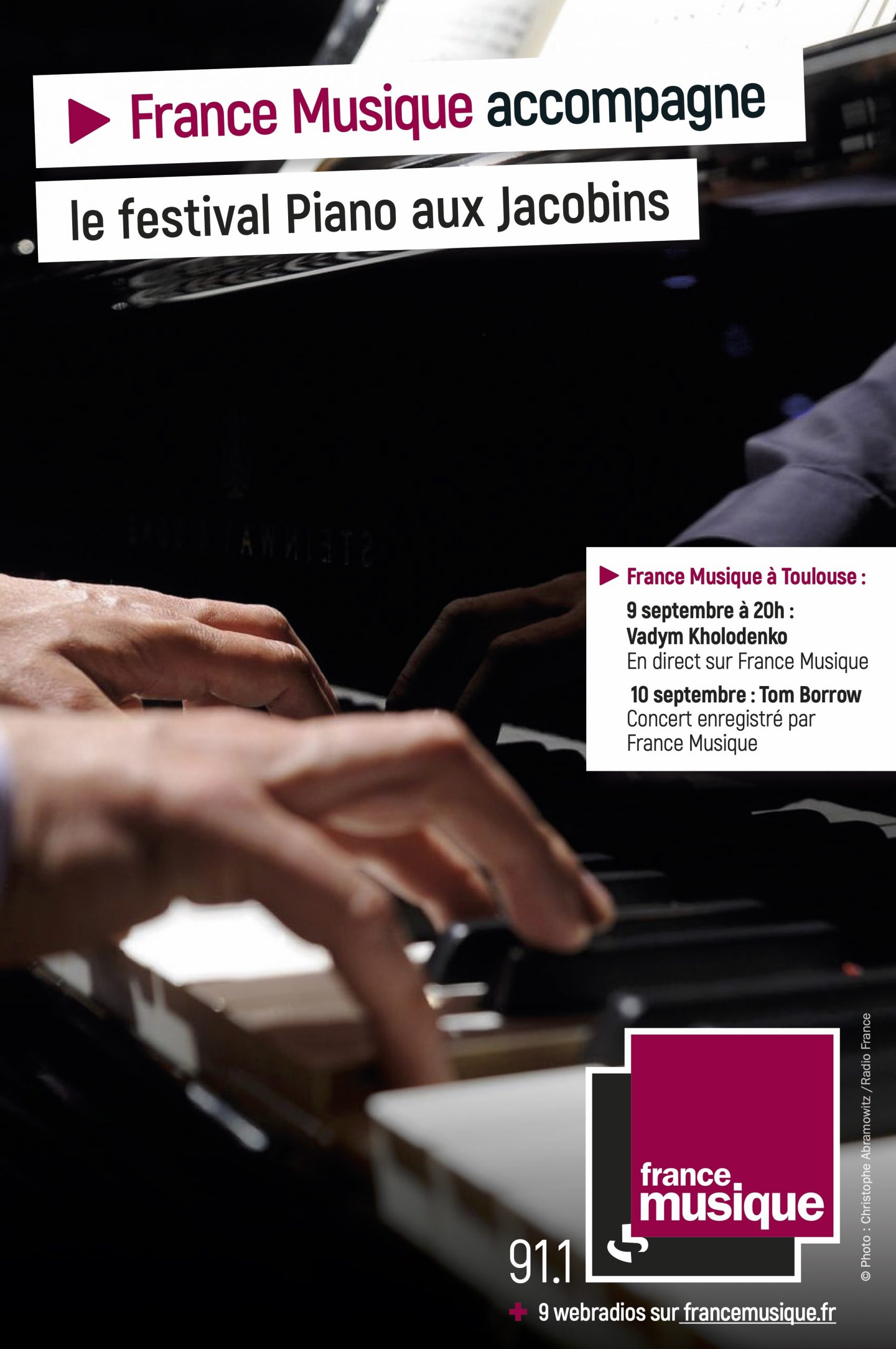 PianoJacobins France Musique Affiche 2021