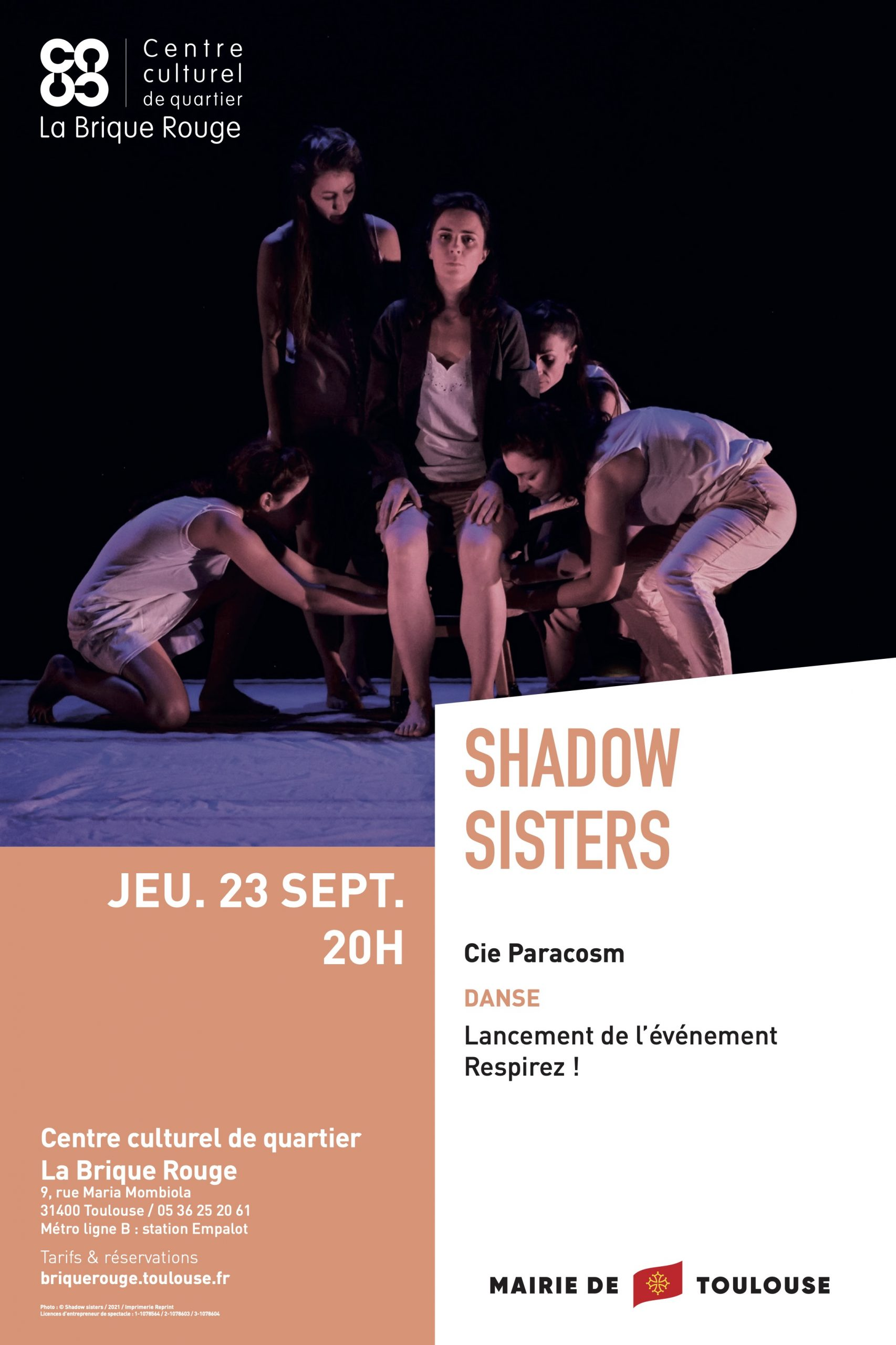 Shadow Sisters Affiche