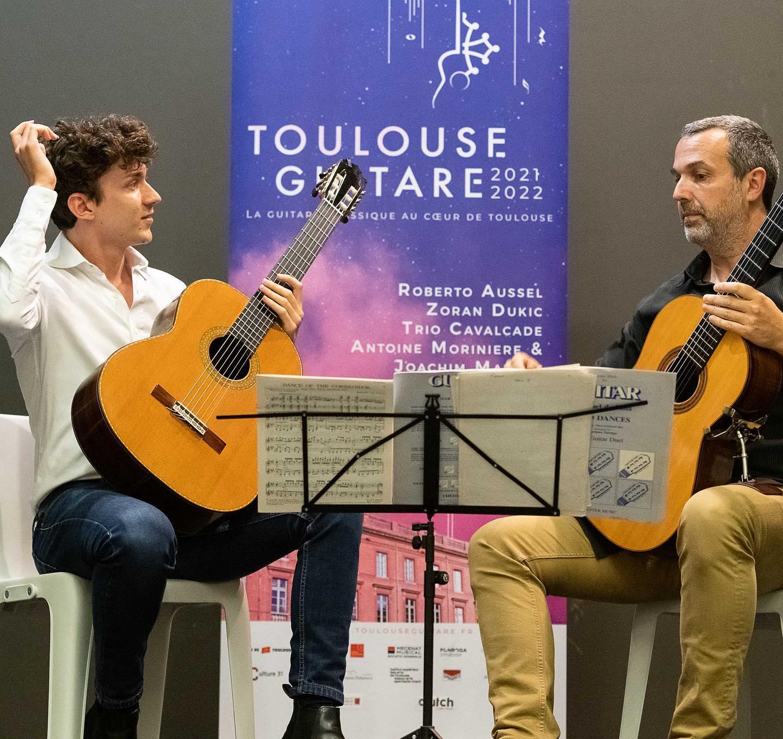 Thibaut Garcia et Benoit Albert