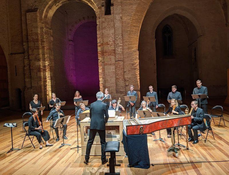 Les Musiciens Et Chanteurs De L'ensemble Correspondances