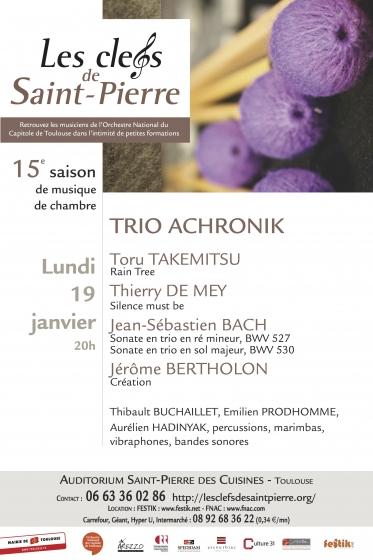 Les Clefs de Saint-Pierre - Trio Achonik
