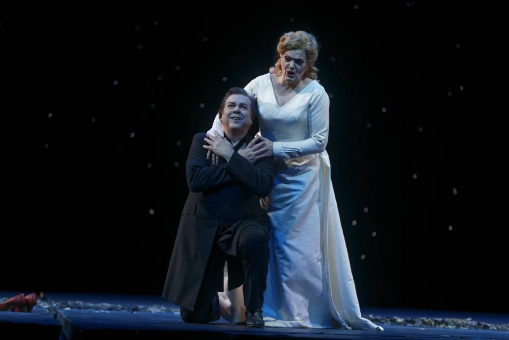 Elisabete Matos (Isolde), Robert Dean Smith (Tristan) ©  Crédit Patrice Nin