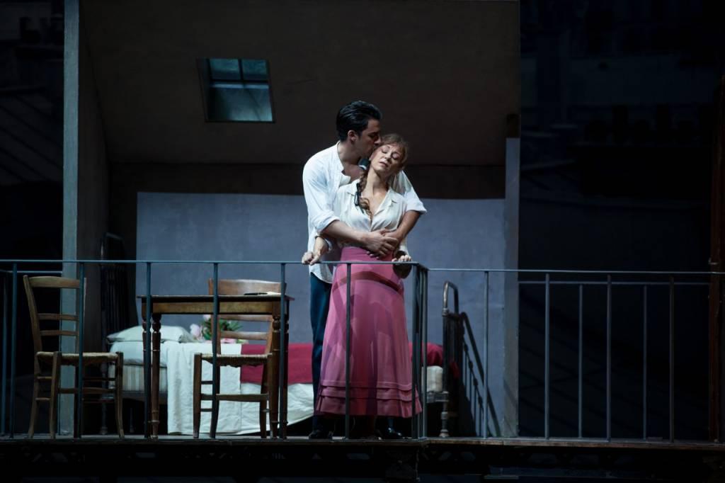 Charles Castronovo (Le Chevalier des Grieux) et Natalie Dessay (Manon Lescaut) © Patrice Nin