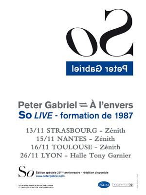 Peter Gabriel - Zenith de Toulouse