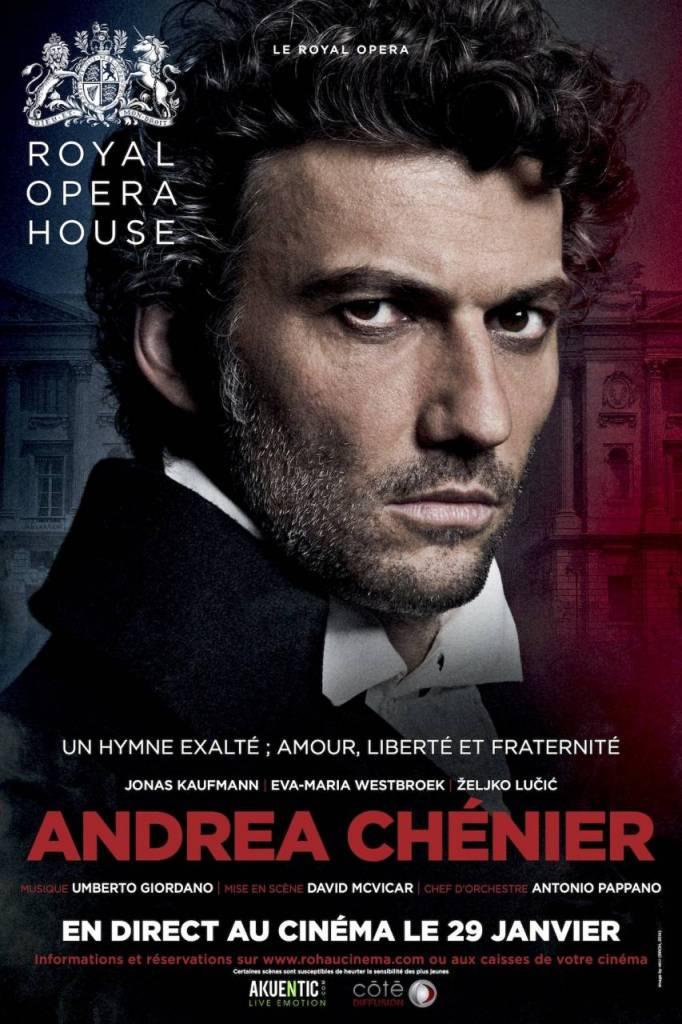 André Chenier - Royal Opéra house / Méga CGR Blagnac