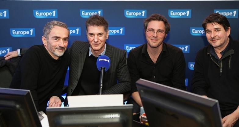 Etienne Daho et ses invités au studio Coluche d'Europe 1.