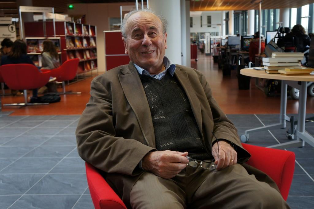 Bartolomeo Bennassar au Centre de Ressources des Langues - Université Toulouse Le Mirail © Joson