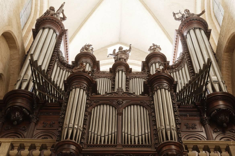 La basilique Saint-Sernin.