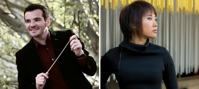 Lionel Bringuier @ J. Grimbert - Yuja Wang @ N. Oliveros