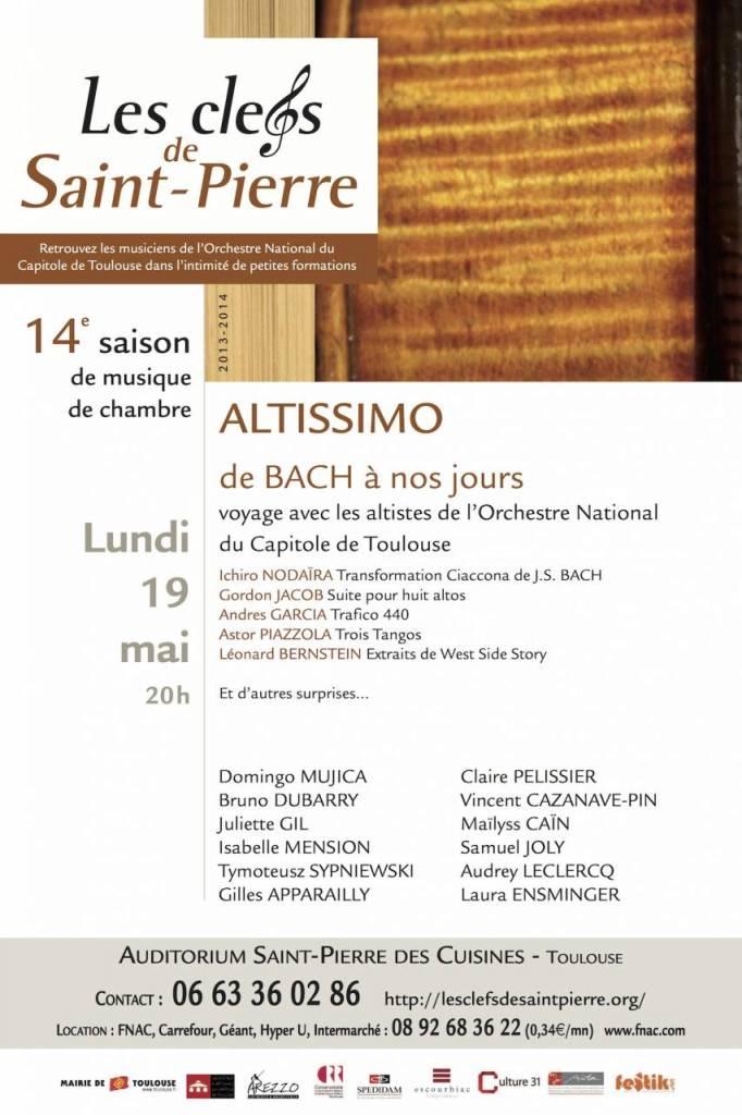Clefs de Saint-Pierre - Altissimo