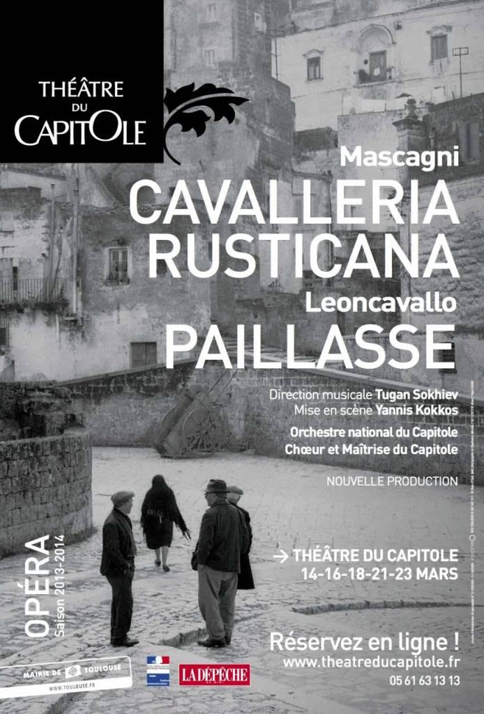 Cavalleria Rustica / Paillasse - Théâtre du Capitole