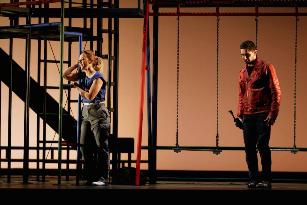 Vannina Santoni (Patricia Baer), Aimery Lefèvre (Toni) © Patrice Nin