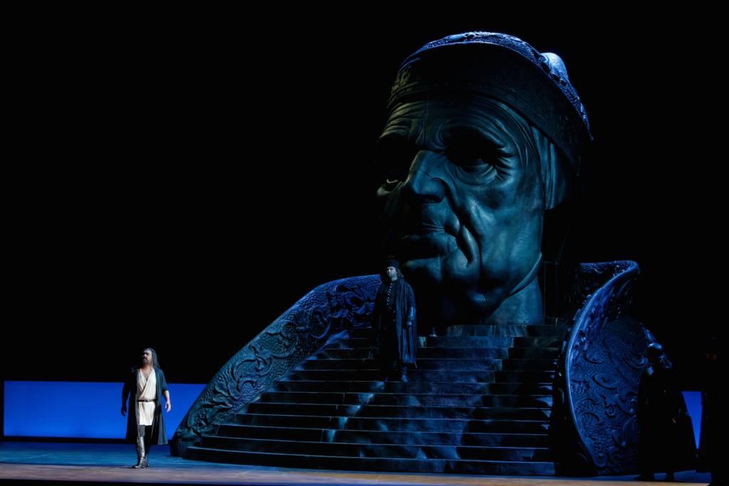 Machado (Jacopo Foscari), Alfredo Poesina (L'Officier) © Patrice Nin