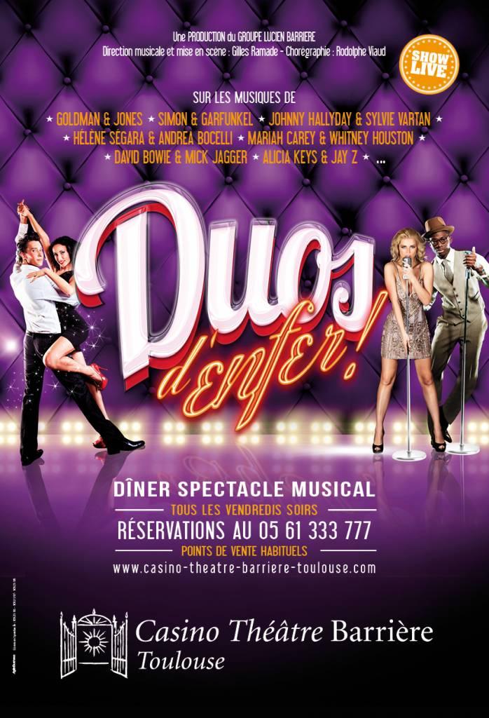 Duos d' Enfer - Casino Théâtre Barrière