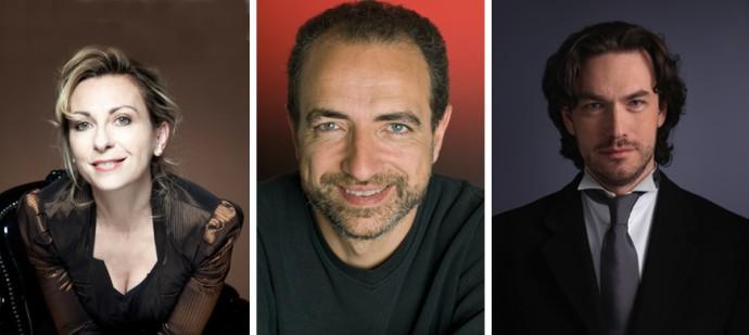 Natalie Dessay © Simon Fowler - Laurent Naouri © Alvaro Yanez - Maciej Pikulski @ DR