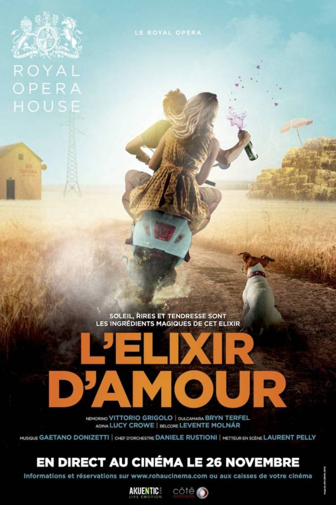 Elixir d'Amour - Royal Opéra House de Londres
