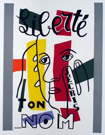 Fernand Léger (1881-1955) avec l'autorisation de Madame Sylvie Seghers