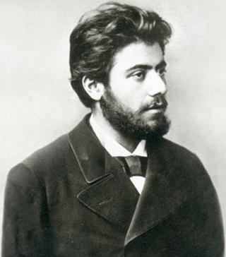 Gustav Mahler en 1881