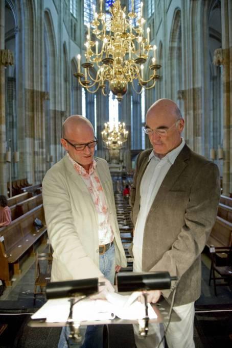 Jean-Marc Andrieu & Joël Suhubiette - Utrecht © Joyce Vanderfeesten