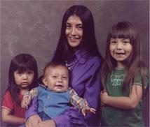 John Trudell family