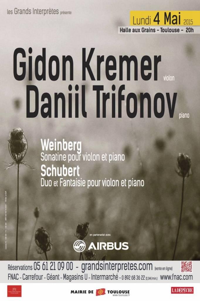 Gidon Kremer - Les Grands Interprètes