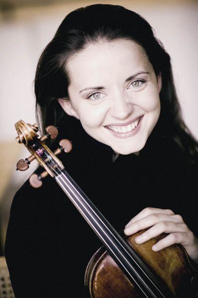 La violoniste lettone Baiba Skride