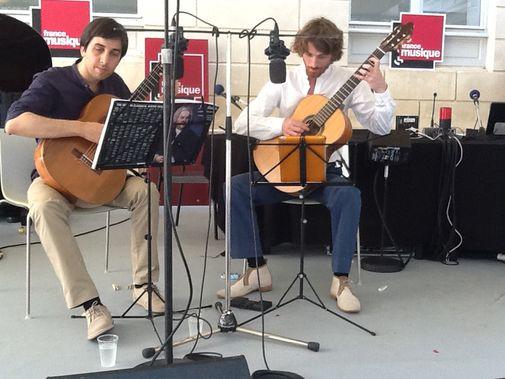 Le Duo Mélisande  Sébastien Llinarès et Nicolas Lestoquoy