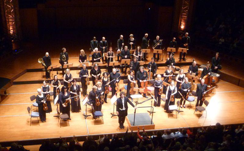 Le Scottish Chamber Orchestra et Robin Ticciati lors de leur première venue à Toulouse