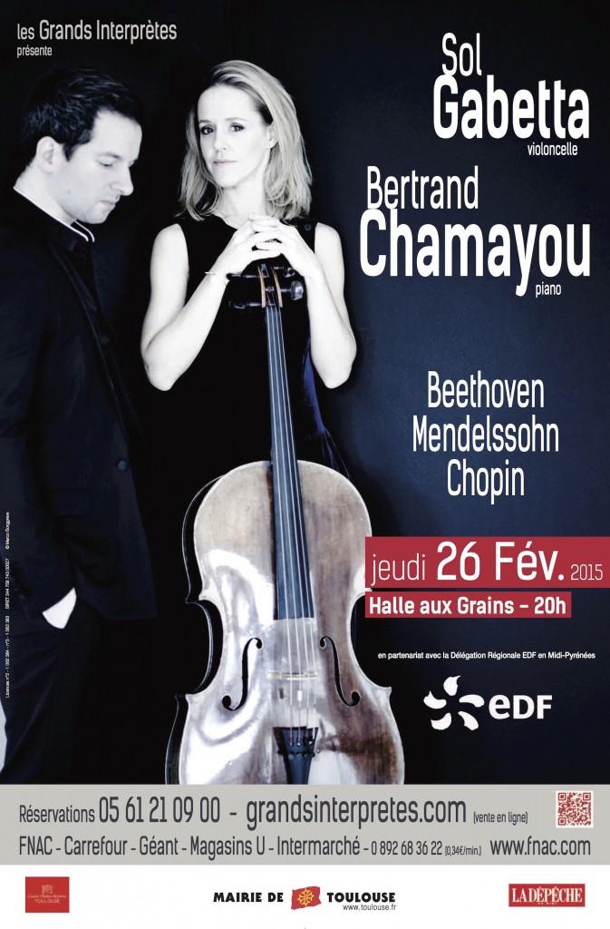 Sol Gabetta / Bertrand Chamayou