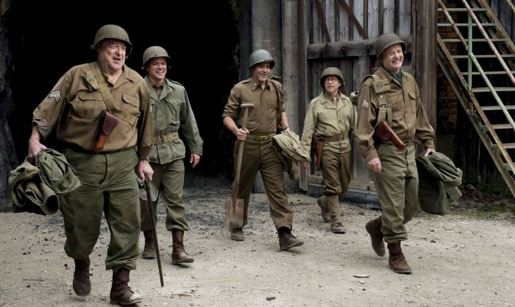 Monuments Men  - George Clooney - Matt Damon - Bill Murray - Bob Balaban - John Goodman