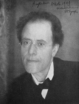 Gustav Mahler (1909)
