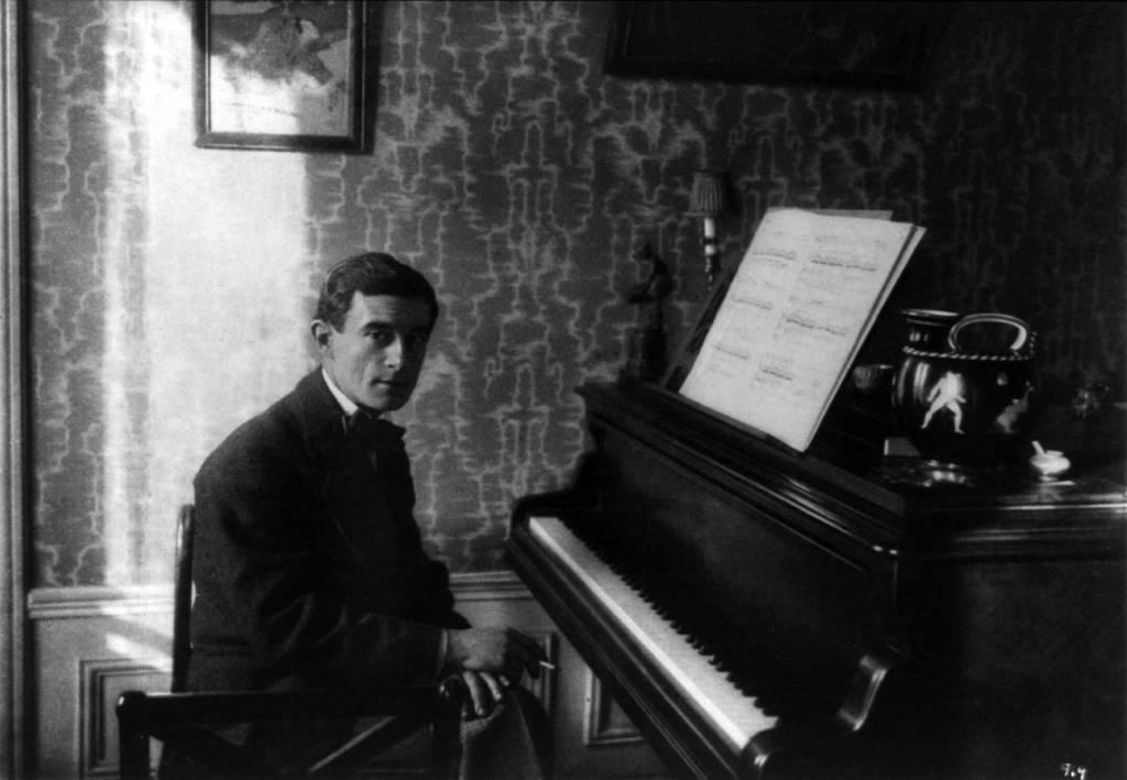 Maurice Ravel en 1912