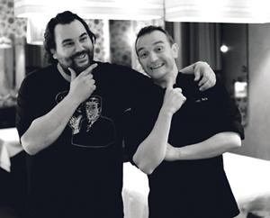 Rodolphe Lafarge (Rod'n'Roll) & Jérémy Morin
