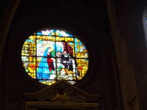 N.D. Nazareth vitrail XVI-