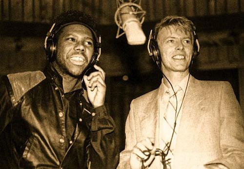 Nile Rodgers et David Bowie