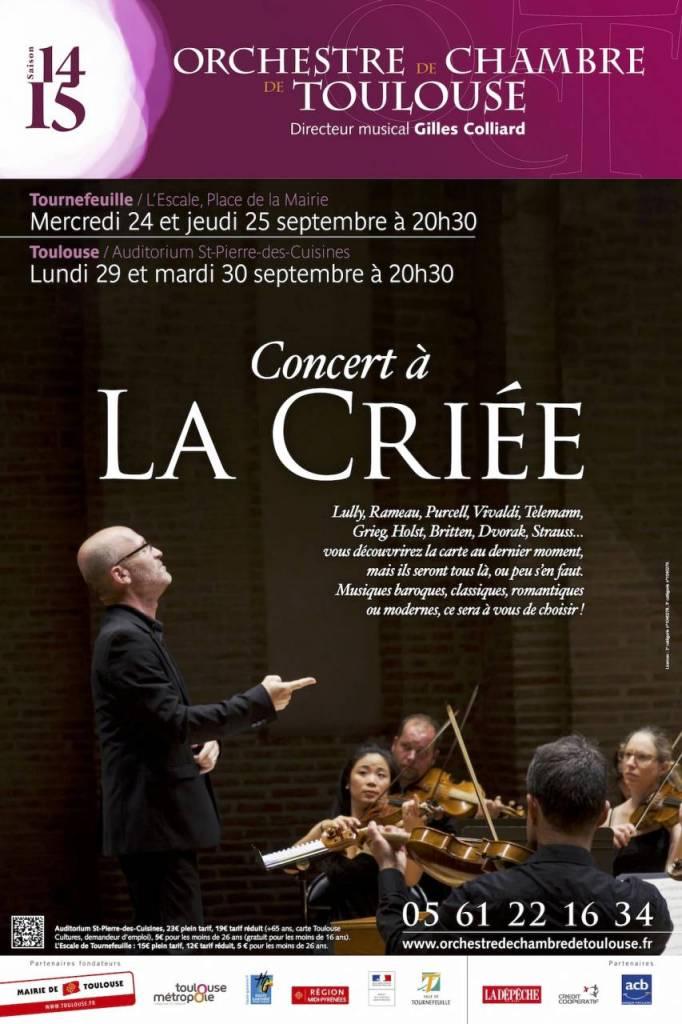 Orchestre de Chambre - La Criée