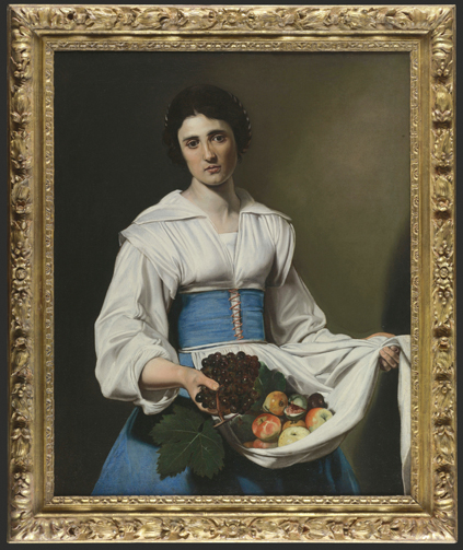 Nicolas Tournier  - Paysanne portant ses fruits © Fondation Bemberg