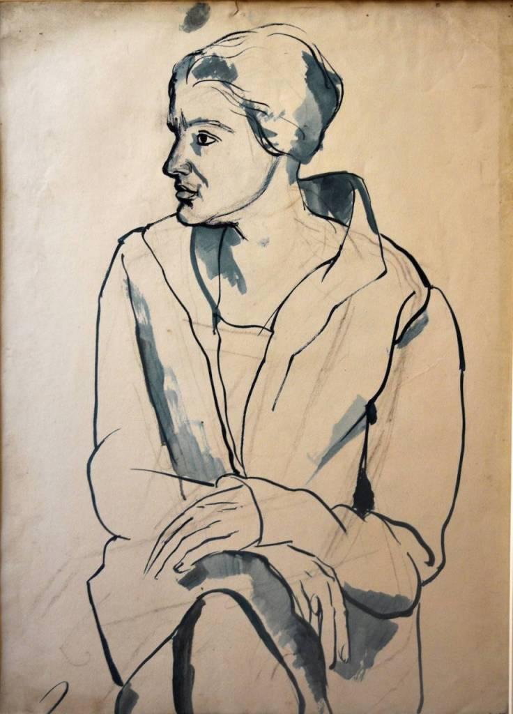 Pierre DAURA - Anne Matthews, vers 1930