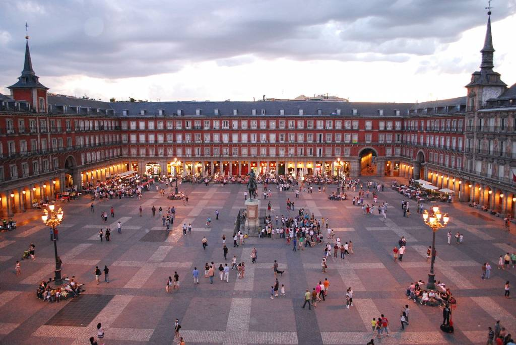 Plaza Mayor de Madrid © Sebastian Dubiel