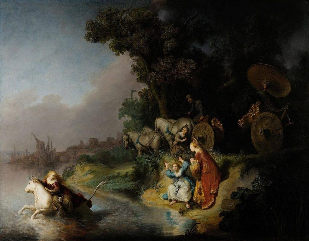 Rembrandt L'enlèvement d'Europe (1632)