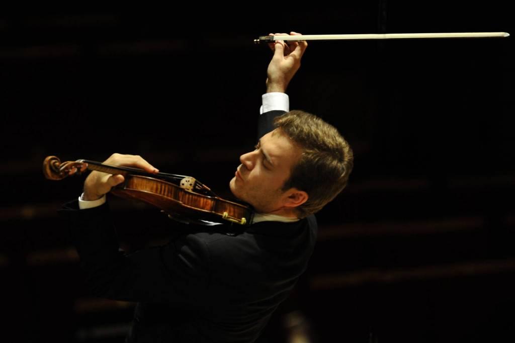 Le violoniste Renaud Capuçon - Photo Jean-François Leclercq -