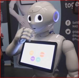 Pepper, le robot aussi mignon que performant