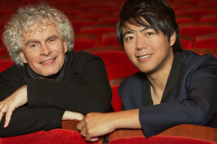 Sir Simon Rattle (direction) - Lang Lang (piano)